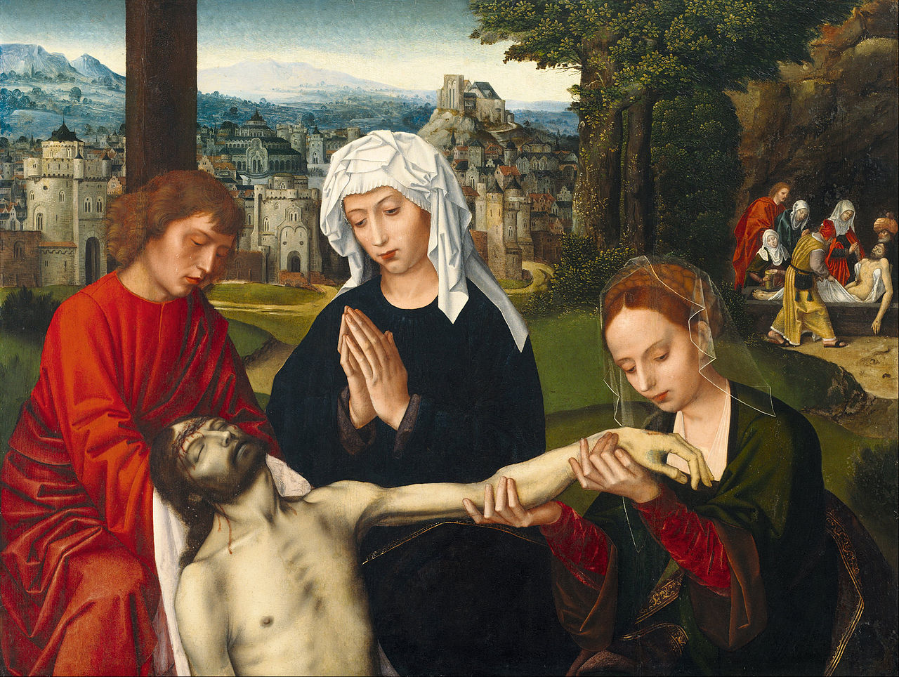 https://upload.wikimedia.org/wikipedia/commons/thumb/2/2f/Ambrosius_Benson_-_Piet%C3%A0_at_the_Foot_of_the_Cross_-_Google_Art_Project.jpg/1280px-Ambrosius_Benson_-_Piet%C3%A0_at_the_Foot_of_the_Cross_-_Google_Art_Project.jpg