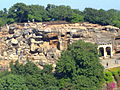 An aerial view of KHANDAGIRI AND UDAYGIRI CAVES.jpg