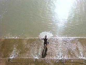 Lower Anaicut - Fishing in the Lower Anaicut
