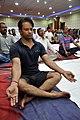 Anand Kumar in Kapalabhati - International Day of Yoga Celebration - NCSM - Kolkata 2015-06-21 7418.JPG