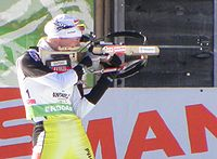 Anastasia Kuzmina - shooting - 22-01-2010.jpg