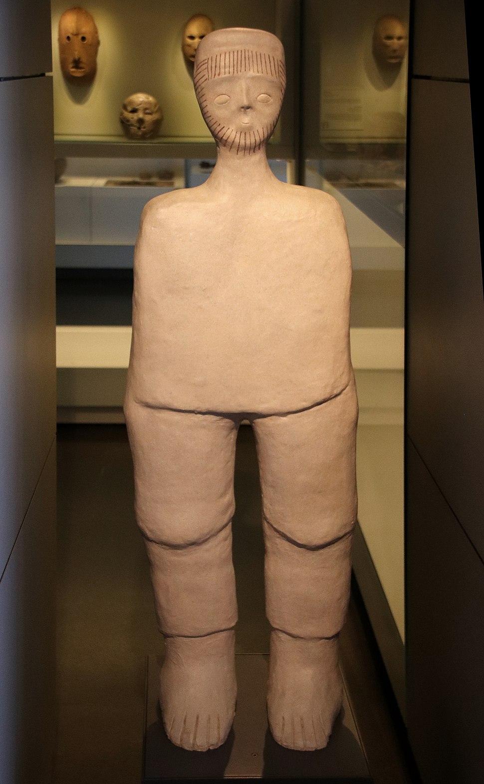 Ancestor Statue, Jericho, c. 9000 BC, Replica