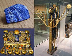 لاجورد-سنگ لاجورد-لاجورد اصلی-سنگ آبی