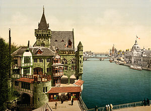 Paris Exposition, 1900 (film series) - Old Paris and the Army and Navy Pavilions