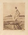 Anders Zorn - The Swan (etching).jpg