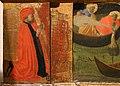 Andrea di giusto, adorazione dei magi e santi, da s. andrea a ripalta, 1436, predella 01 committenti serristori.jpg