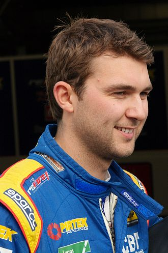 2013 British Touring Car Championship - Andrew Jordan, the 2013 Drivers' Champion
