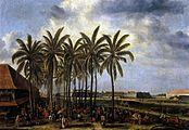 Andries Beeckman - The Castle of Batavia, Seen from Kali Besar West - WGA1557.jpg