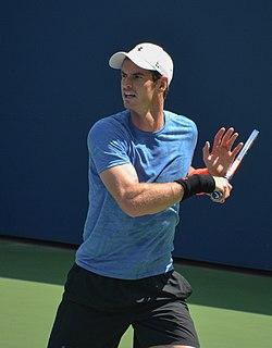 Andy Murray British tennis player