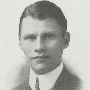 Andy Smith (American football) - Smith pictured in Debris 1914, Purdue yearbook