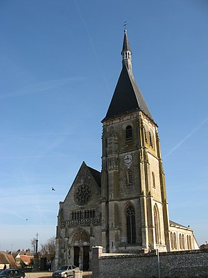 Anet - Image: Anet eglise