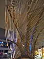 Angel wings sculpture at N1 shopping centre, Islington by Wolfgang Buttress and Fiona Heron in March 2011 02.jpg