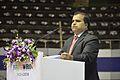 Anil Shrikrishna Manekar Delivers Speech - Inaugural Session - Indian National Championship - WRO - Kolkata 2016-10-23 1271.JPG