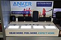 Anker SoundCore interactive speaker display at a Walmart in Gillette, Wyoming.jpg