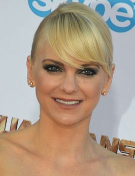 Anna Faris tijdens première van Guardians of the Galaxy in 2014.