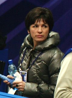 Anna Levandi Russian figure skater who competed for the Soviet Union