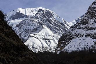 Annapurna III - Image: Annapurna Three