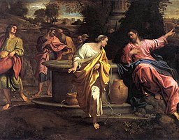 Annibale Carracci - The Samaritan Woman at the Well - WGA4446
