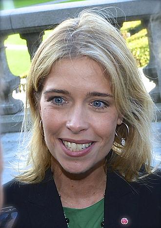 Minister for Social Security (Sweden) - Image: Annika Strandhäll 2014