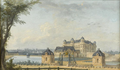 Anonymous painting of the Château de Chantilly in circa 1775.png