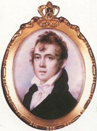 Anson Dickinson - Anson Dickinson by Edward Malbone, July 1804