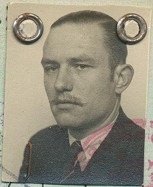 Bob Duynstee - Passport photo of Bob Duynstee