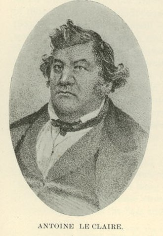 Davenport, Iowa - Antoine Le Claire was the primary founder of Davenport