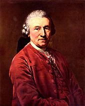 Seyler's long-time collaborator, the actor Konrad Ekhof, regarded as Germany's finest actor of the 18th century (Source: Wikimedia)