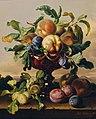 Anton Hartinger - Stillleben mit Pfirsichen und Pflaumen in roter Glasschale - 4628 - Österreichische Galerie Belvedere.jpg