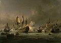 Anton Melbye - En episode af søslaget i Køge Bugt 1677 - KMS748a - Statens Museum for Kunst.jpg
