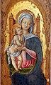 Antonio vivarini, madonna in trono tra i ss. benedetto e scolastica, 05.jpg