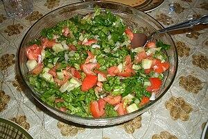 Arab salad - Image: Arabsalad