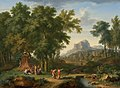 Arcadian landscape with a bust of Flora, by Jan van Huijsum.jpg