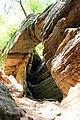 Arch inside Hidden Canyon - panoramio.jpg
