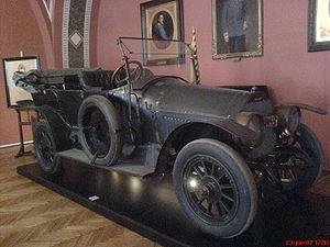English: The car that Archduke Ferdinand was s...