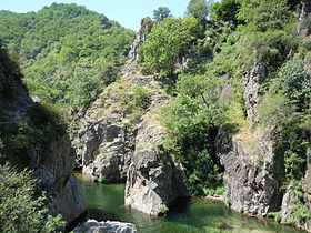 image illustrative de l'article Haute-vallée de l'Ardèche