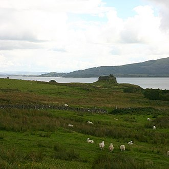 Mull - Ardtornish Castle