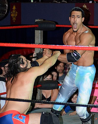 AR Fox - Fox in the ring with Paul London
