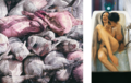 Aris Kalaizis Diptych Oil on canvas 73x73, 73x35 inch 185x185,185x90 cm 1997.png