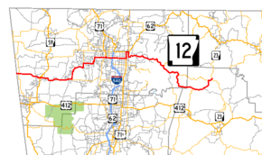 Arkansas Highway Wikipedia - Arkansas highway map