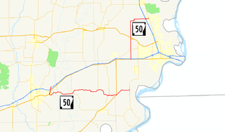 Arkansas Highway 50 highway in Arkansas