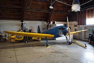 Arkansas Air & Military Museum - Image: Arkansas Air & Military Museum May 2017 05 (1941 Howard DGA 18K)
