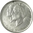 Arkansas centennial half dollar commemorative obverse.jpg