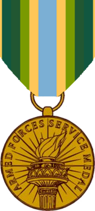 Armed Forces Service Medal - Armed Forces Service Medal