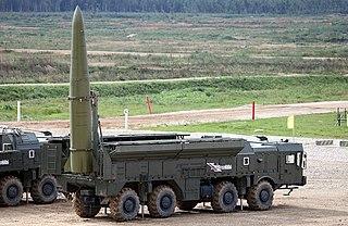 9K720 Iskander Short-range ballistic missile
