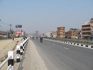 Araniko Highway - Araniko Highway at Bhaktapur