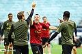 Arsenal players training before 2019 UEFA Europa League final 10.jpg