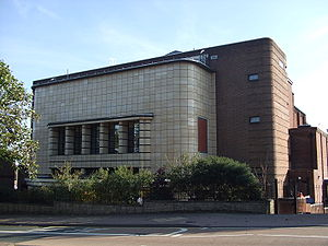 Dudley - Dudley Art Deco Cinema, now a Jehovah's Witness Kingdom Hall