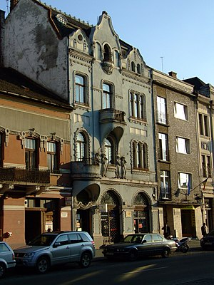 Eroilor Avenue, Cluj-Napoca - Buildings on the Eroilor Avenue