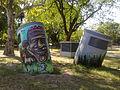 Arte callejero Buenos Aires subte línea H Parque Patricios III.jpg